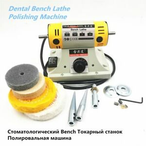 220v 350w Polishing Machine For Diy Woodworking Jadejewelry Dental Bench Lathe