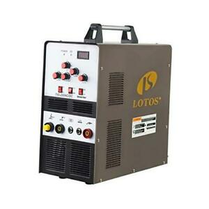 Lotos Tig200acdc 200a Ac dc Aluminum Tig Welder With Dc Stick arc Welder Square