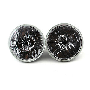 7 Multi Reflex Headlight H4 55 60w W Tri Bar Black Dot