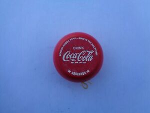 Coca-Cola Yo-Yo Philippines Beginner Etched Letters  - Mint