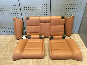 2009 Bmw 335i 2nd Row Rear Seat Convertible Leather Complete Oem