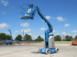 2013 Genie Z30 20n 30 Electric Articulating Boom Lift Man Aerial Jib Bidadoo