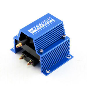 Universal Pc91 12v High Output External Male E core Ignition Coil Blue