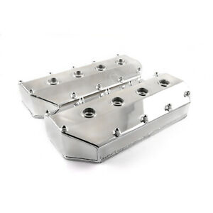Hemi 426 Late Model Aj Stg V Top Fuel Head Polished Fabricated Valve Covers