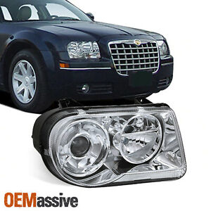 Fits 05 10 Chrysler 300c Passenger Right Side Replacement Projector Headlights