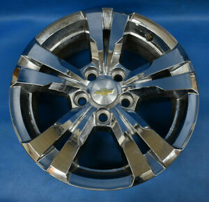 Chevy Equinox 2010 2017 Oem Wheel 17x7 Factory Rim 17 Chrome Clad 9597707
