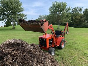 Ingersoll 6018 Loader Tractor With Grapple And Backhoe Attachment Case