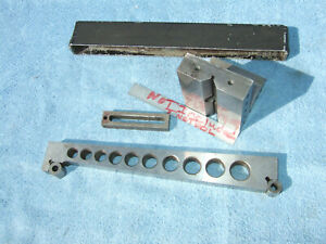 Angle Plate 1 W clamp 10inch Sine Bar Toolmaker Machinist Made Mill Grind