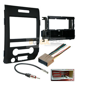 Single Din Radio Car Stereo Install Kit For 2013 214 Ford F 150 Classic Dash