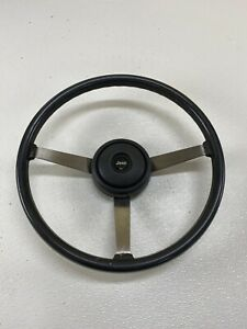 1984 1996 Jeep Wrangler Cherokee Xj Mj Rubber Steering Wheel Grey Gray Oem