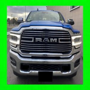 Chrome Grille Overlay 7 Pcs Fits 2019 2020 Dodge Ram Truck 2500 W 7 Bar Grill