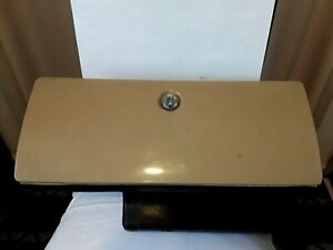 1973 87 Chevy Gmc C10 K10 Glove Box With Insert Oem Sante Fe Tan