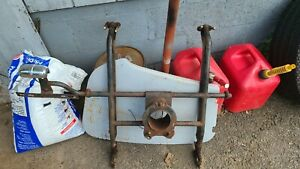 Mg Td Spare Tire Rack Complete