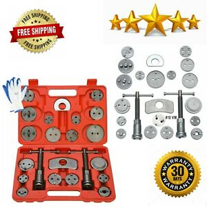 Brake Caliper Wind Back Tool 24pc Professional Disc Brake Caliper Tool Set