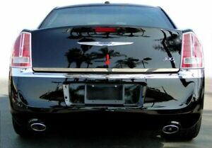 For 2011 2021 Chrysler 300 300c Trunk Lower Accent Molding Trim 1 1pc