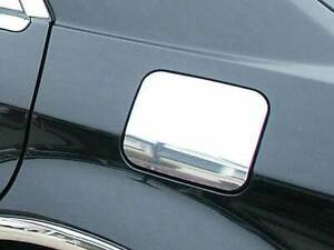 Fit 2005 2010 Chrysler 300 300c Stainless Steel Flat Gas Cap Cover Accent 1pc