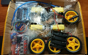 Avoidance Tracking Smart Robot Car 4wd Kit Extra