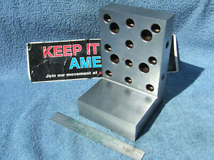 Suburban Tool Co Ap 644 s2 Usa Made Angle Plate Toolmaker Machinist Very Clean