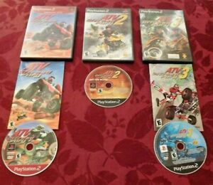 ATV Offroad Fury  Atv Offroad Fury 2 & Atv Offroad Fury 3 (Sony PlayStation 2)
