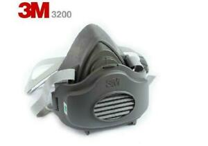 Authentic 3m Reusable m l Half face Respirator W 10 3m Filters
