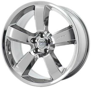 20 Dodge Charger Pvd Bright Chrome w Wheel Rim Factory Oem 2262 2006 2010