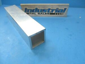 2 1 2 X 12 long X 1 4 Wall 6063 T52 Aluminum Square Tube 2 5 X 250 Wall