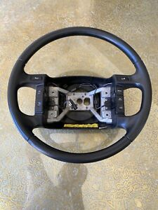 94 97 Ford Truck F 150 250 350 Steering Wheel W Air Bag Horn Pad Nuts Wiring