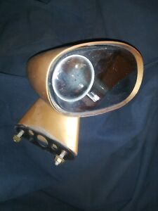 1980 Chevy Caprice Manual Passenger Right Side Mirror Gold Brown Bullet