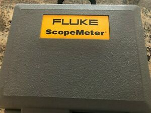 Fluke 105b Series Ii Scopemeter 100mhz W Test Leads And Probe