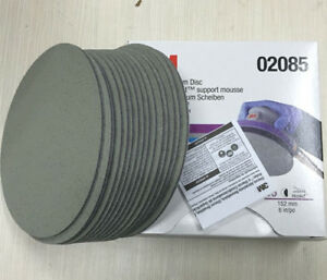 For 3m 02085 Trizact Hookit 6 Inch P3000 Grit Foam Disc Automotive 1 15sheets