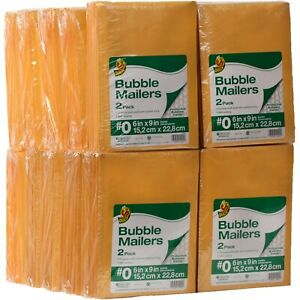 Kraft Bubble Mailers 6 In X 9 In 240 pack Shipping Supplies 0