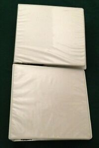 Two Lot 3 1 2 Binder 3 D Rings With Divider
