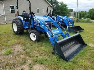 2017 New Holland Workmaster 35 Tractor W Loader