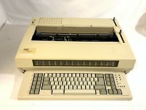 Ibm Wheelwriter 1500 Lexmark Electric Typewriter W Ribbon 6783 009