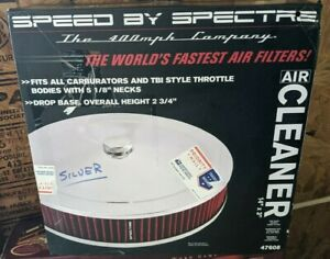 Speed By Spectre 47608 Extra Flow The Worlds Fastest Air Cleaner 14 X 3