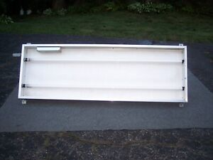 Outdoor Light Box Sign Sturdy 24 X 60 X 5 Aluminum Cabinet no Rust
