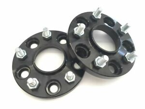 2pc Black Hub Centric Wheel Spacers Adapters 5x115 14x1 5 15mm