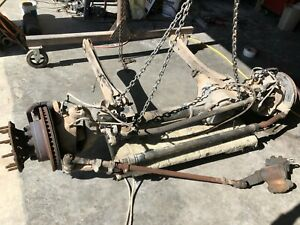 2008 Ford F550 4x4 Coil Type 4 88 Front Axle Assembly 8c34akc 2008190 2
