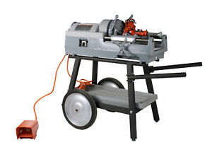 Reconditioned Ridgid 535 V2 Pipe Threading Machine With 150a Cart 811a Die Head