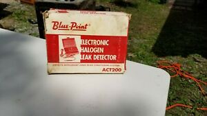 Blue Point Snap On Act200 Tools Electronic Halogen Leak Detector Nos
