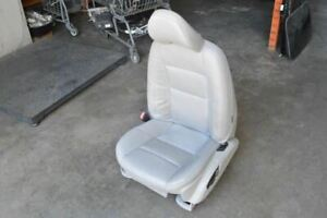 2010 Volvo S40 Left Driver Side Front Seat Gray Leather Power
