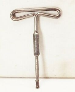 Vtg Snap On 5 16 Drive Short T Handle Driver Wrench 1920s Nut Spinner Tool
