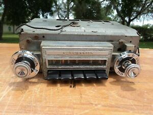 1965 Oldsmobile Cutlass 442 Deluxe Am Radio Oem