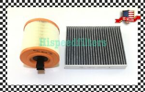 Engine Carbon Cabin Air Filter For 2016 2019 Ats 3 6l 217cu Cruze 1 4l