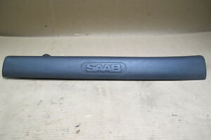 95 98 Saab 900 Front Right Passenger Side Sill Plate Black 4421491 Oem