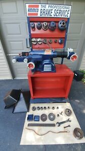 Ammco 4100 Brake Lathe Combined For Rotors And Drums Used