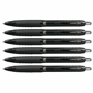 Uni ball Signo 307 Rt Gel Ink Pen 0 5mm Micro Point Black Ink 6 Count