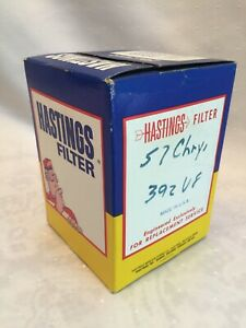 Vintage Hastings Oil Filter Lf319 p319 For 1957 Chevy 392 V8 Sealed Nos