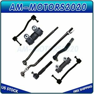 Fits 2000 2004 2005 Ford Excursion 4wd Front Tie Rod Ends Sway Bar Links Kit X8
