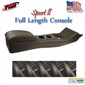 Full Length Sport Ii Console For 1967 68 Mustang Coupe Fastback W o Ac